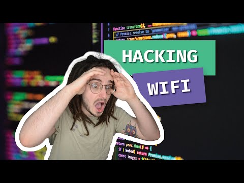 Hacking WiFi Passwords for fun and profit   WiFi Hacking Course / Tutorial
