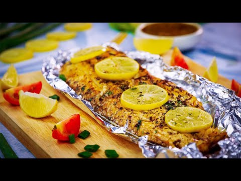 Baked Fish In Foil Recipe By SooperChef
