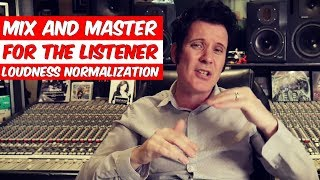 Mix and Master for the listener - Loudness Normalization with Carlo Libertini - Produce Like A Pro