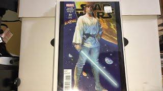 Star Wars Comic Book Haul Willy's Comics