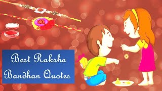 Happy Raksha Bandhan Quotes, Wishes,Messages for Brother | Best Rakhi Whatsapp Status Video 2020