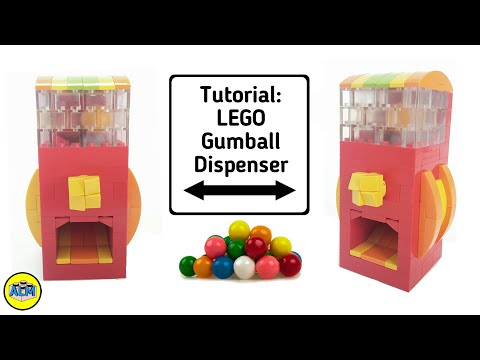 How To Build A Lego Gumball Dispenser