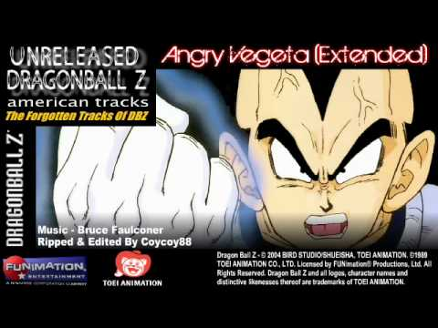 (Unreleased) Angry Vegeta (Slightly Extended) Re-Ripped