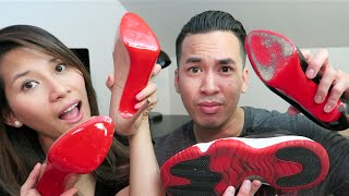 How to Protect Red Bottom Sole Christian Louboutin For Cheap
