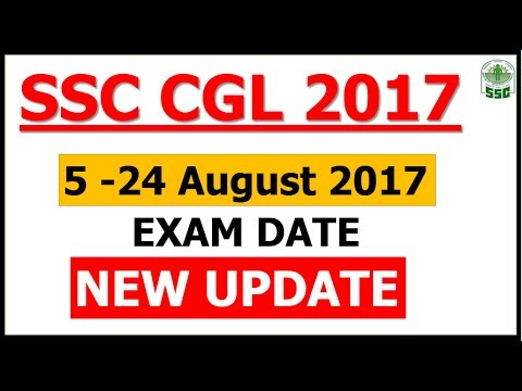 SSC CGL 2017 - New NOTICE and Last Minute Discussion