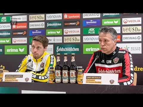 32. Spieltag   FCE - SGD   Pressekonferenz vor dem Spiel