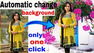 Best photo editing app | Automatic photo background change | photo banane wala app