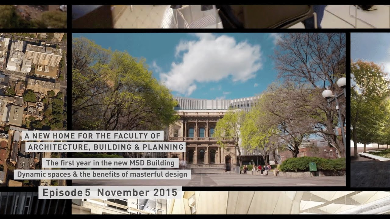 A New Home For The Faculty Of Architecture Building And Planning Episode 5 Youtube