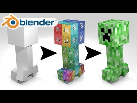 TEXTURE MAPPING For Absolute Beginners - Blender Tutorial