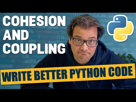 Cohesion and coupling: