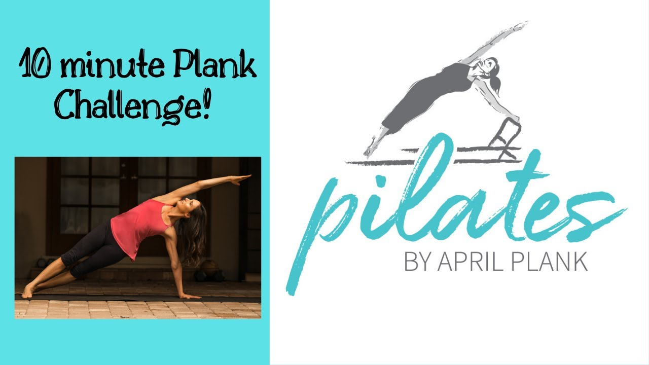 10 Minutes of Planks - Pilates Mat Class
