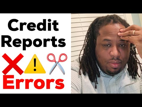 Credit Repair 2019 ( HOW TO FIND ERRORS ON YOUR CREDIT REPORT)