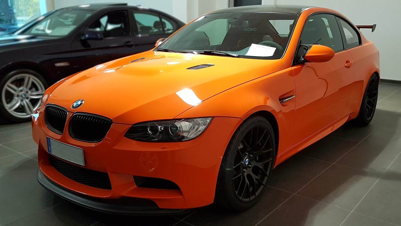2011 BMW M3 GTS 135x Limited Edition Exterior | -[BMW.view]- - YouTube