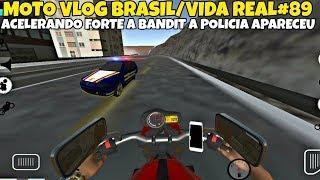 MOTO VLOG BRASIL/VIDA REAL#89 ACELERANDO FORTE A BANDIT DEU RUIM