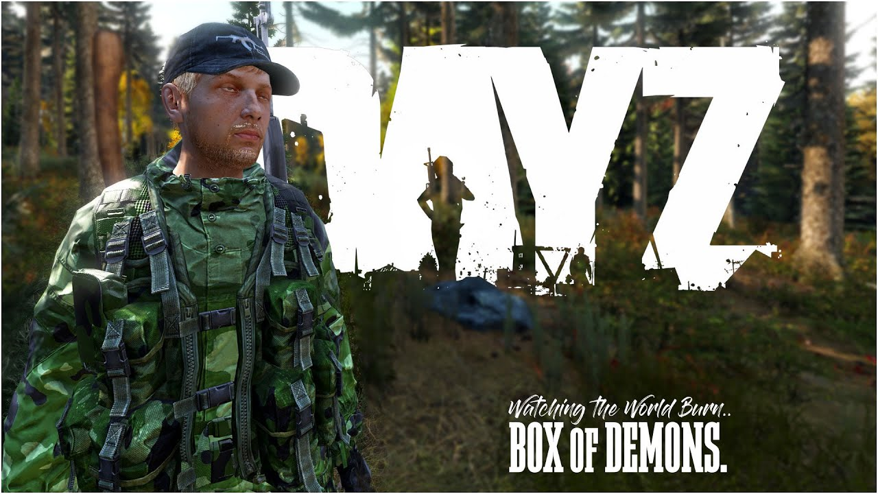 DayZ PC PS4 XBOX 1 - Lesson 1 - Building your FIRST BASE - Build the Wall