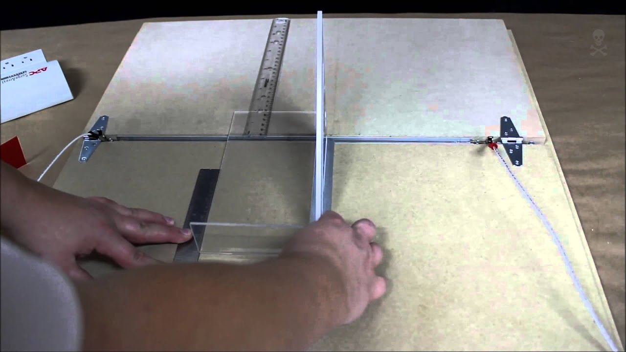 Nichrome Wire Acrylic Bending Table Youtube