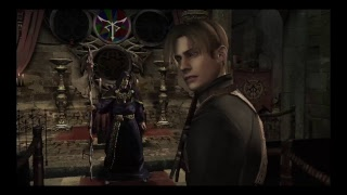 Resident evil 4 gameplay first real big boss!!
