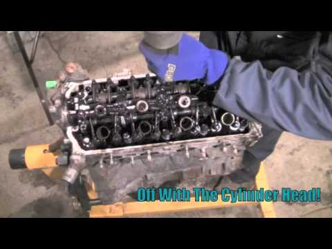 DIY Honda Civic D Series Engine Rebuild - YouTube