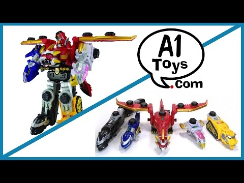 Gosei Great Megazord A1 Toys Review | Airlim