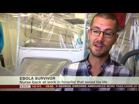 Inspirational NHS nurse Will Dooley discussing Ebola and his experiences of Sierra Leone