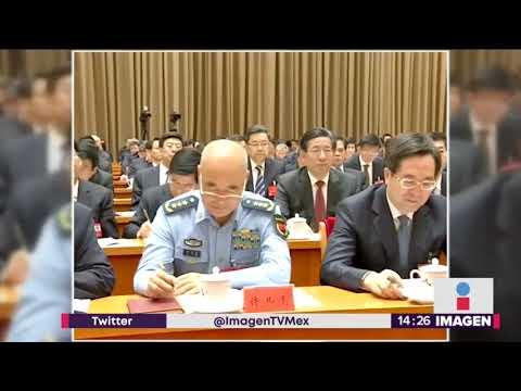 La despiden por criticar al presidente de China | Noticias con Yuriria Sierra