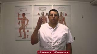Estiramiento de los músculos del cuello.