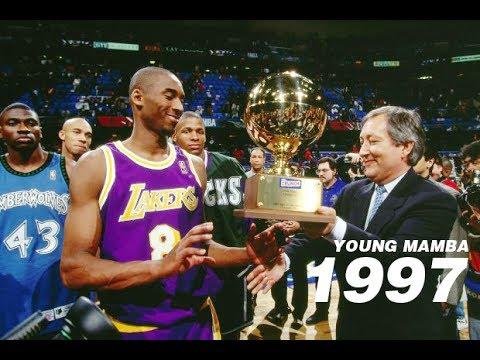 """Kobe Bryant """"Young Mamba"""" - The Youngest Champion Ever Slam Dunk Contest 1997"""