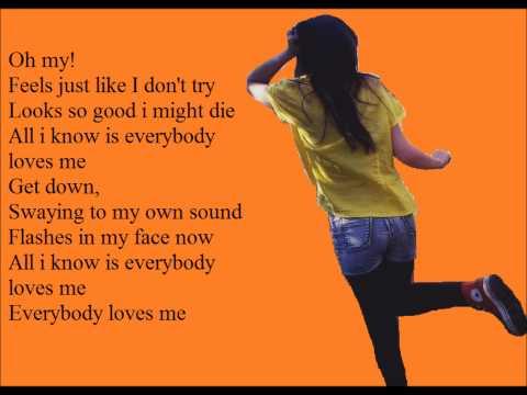 One Republic - Everybody Loves Me [Lyrics On Screen] HQ