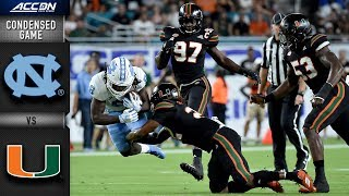 North Carolina vs. Miami Condensed Game | 2018 ACC Football