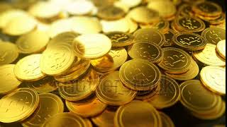 Bitcoins Falling On Pile, Cryptocurrency, Digital Internet Money, 3D Background  Bitcoin Currency Ga