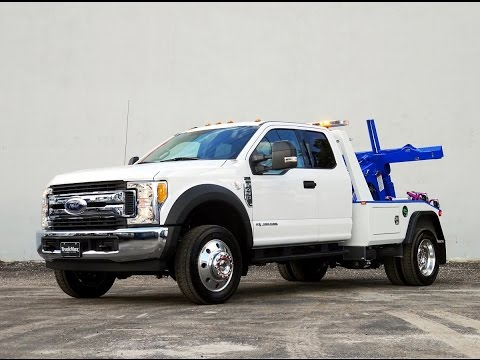2017 Ford F450 With A Jerrdan Ngs Wrecker Body Youtube