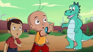 Mighty Raju - Woh Raha Dinosaur! | Hindi Cartoon for Kids