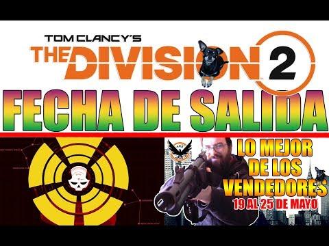 THE DIVISION 2!! FECHA DE SALIDA! DISEÑO M4 LIGERA!! LO MEJOR DE LOS VENDEDORES - THE DIVISION