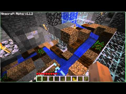 how to build a waterslide in minecraft