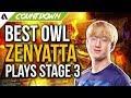 Best Overwatch League Zenyatta Plays - OWL Stage 3
