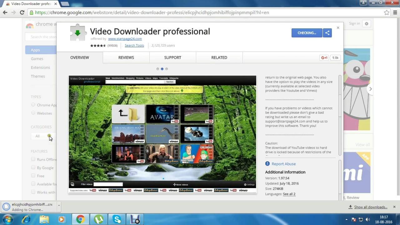best chrome video downloader, Video Downloader professional - YouTube