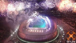 Video aéreo inauguración estadio Rayados - SkyLens