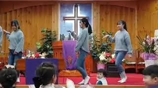 양심문학 창단식  축하공연  예은교회 소녀부
