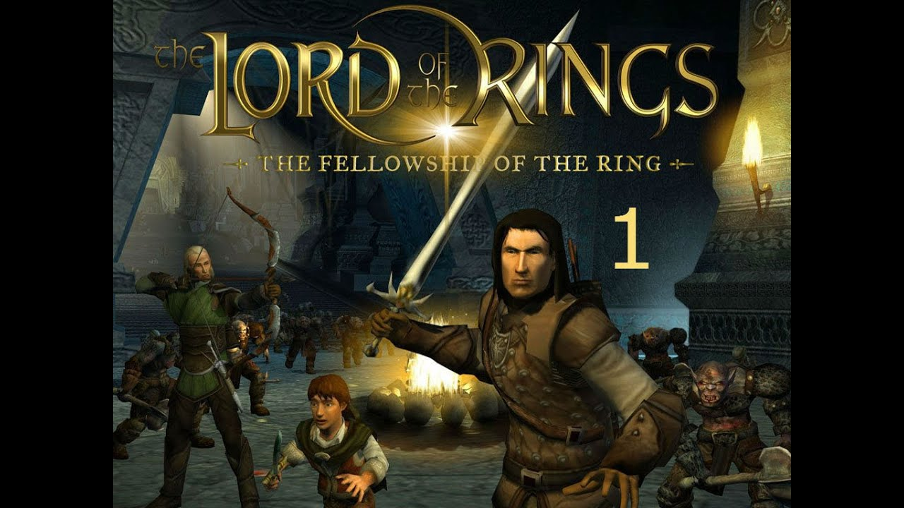 The Lord of the Rings The Fellowship of the Ring Прохождение Walkthrough #1