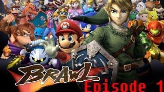 [Let's Play] Super Smash Bros Brawl Episode 1: Les Saucisses Brûlées Nous Attaquent!!!