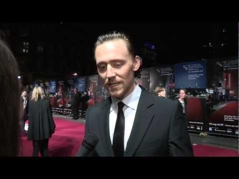 BFI LFFDay 16 - The Deep Blue Sea Interviews Tom Hiddleston, Terence Davies