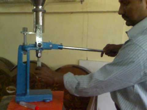 Paste Filler Hand Operated Mp4 Youtube