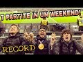 7 PARTITE IN UN WEEKEND - Record!!