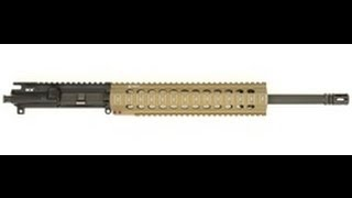 unboxing bravo company 16 mid length upper w troy 11 fde