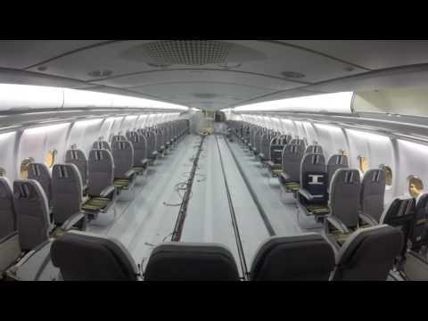 Nuevos interiores de la cabina de los Airbus A330 de Tap Portugal
