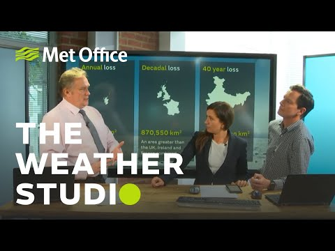 Arctic Sea Ice, UK Rain & The Stats From Typhoon Hagibis – Weather Studio Live 15/10/19