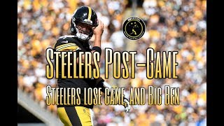 Steelers Post-Game: Steelers lose Big Ben, and the game vs. the Seahawks in Week 2