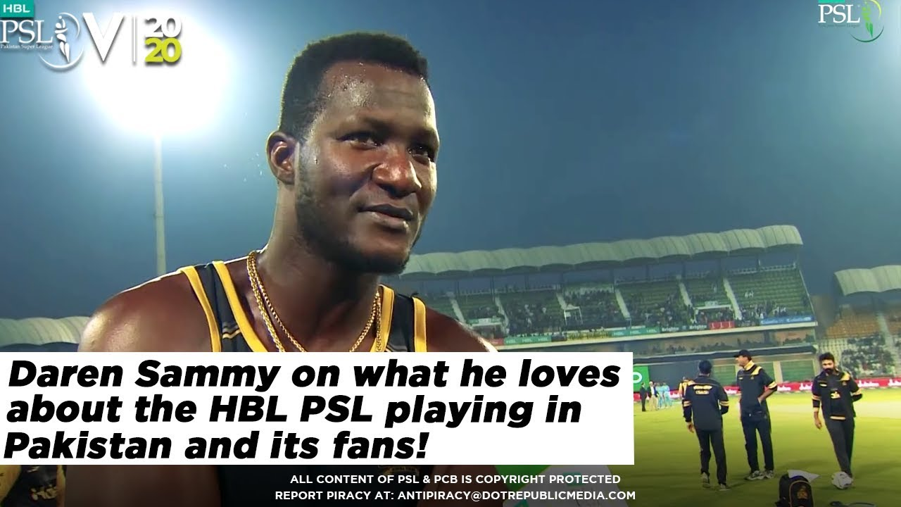 Daren Sammy on what he loves about the HBL PSL, playing in Pakistan and its fans!