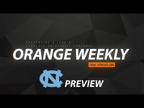 Orange Weekly: Syracuse football bye week review, North Carolina preview (video)