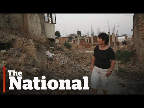 Canadian woman helping rebuild one year after Nepal quake